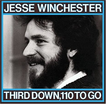 Jesse Winchester - Third Down, 110 To Go LP used