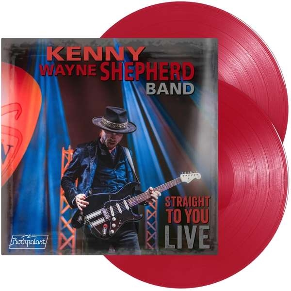 Kenny Wayne Shepherd Band - Straight To You Live 2-LP (col.) new