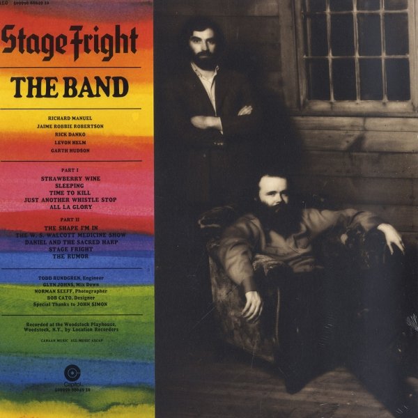 Band - Stage Fright (50th Anniversary Edition) LP new